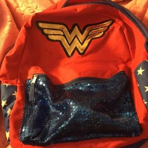 Other - Wonder Woman backpack